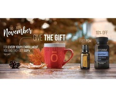 Grab the November's monthly offer