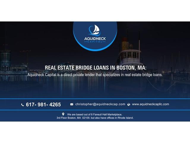 Real estate bridge loans in Boston, MA: | free-classifieds-usa.com