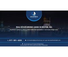 Real estate bridge loans in Boston, MA: