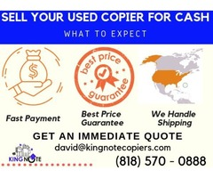 Get a top dollar quote on your used Wide Format Copier.