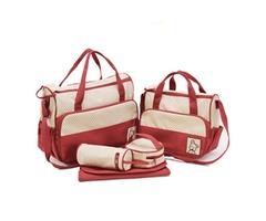 Casual Polka Dots Prints Women Bag Set