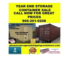 used shipping and storage containers