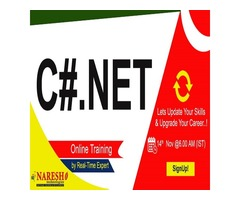Best C Net Online Training in USA - NareshIT