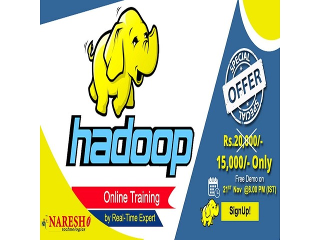 Best Hadoop Online Training in USA - NareshIT | free-classifieds-usa.com