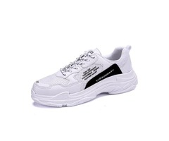 Mesh Low-Cut Upper Lace-Up Mens Sneakers