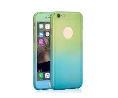 For iPhone 6/6S Case PlusGradient Silicone Case Crash Proof Phone Case