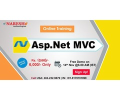 Best Asp Dotnet MVC Online Training in USA - NareshIT
