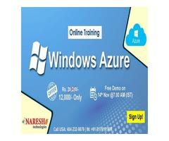 Best Windows Azure Online Training in USA - NareshIT