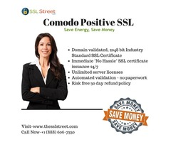 Buy Our Cheapest & Most Popular Comodo Positive SSL