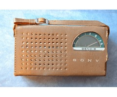 "1960""s ALL TRANSISTOR RADIO"