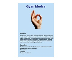 Yoga Mudras Benefits Android Application