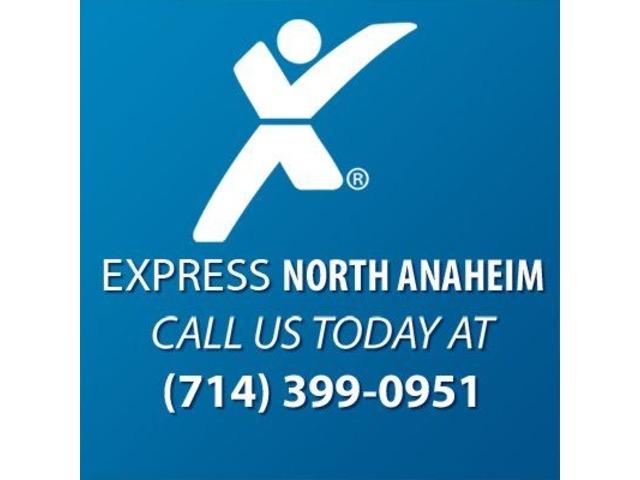 Express Employment Professionals of Anaheim, CA (North) | free-classifieds-usa.com