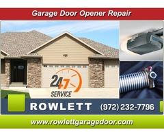 A+ Rated Emergency Garage Door Opener System Repair ($25.95) Rockwall Dallas, 75