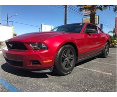 2012 Ford Mustang Buy Here Pay Here Car lots Cars for sale $500 down Houston