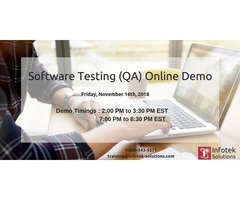 IT Job-Oriented Software Testing(QA) Online Training Demo | free-classifieds-usa.com