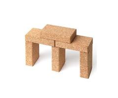 Cork blocks unique and amazing quality