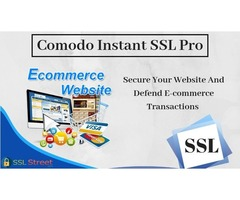 Internet Security With Comodo Instant SSL Pro Certificate