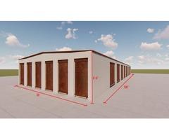 METAL BUILDINGS-SELF STORAGE BUILDINGS