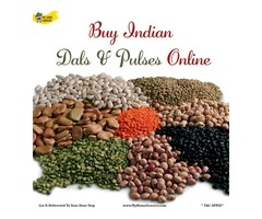 Buy Indian Dals & Pulses Online Richardson,Texas - MyHomeGrocers