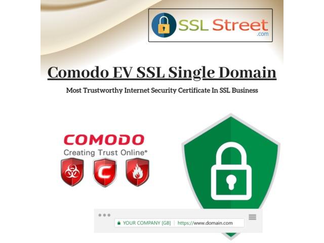 Encrypt Your Data And Secure Transactions With Comodo EV SSL Single Domain | free-classifieds-usa.com
