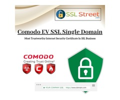 Encrypt Your Data And Secure Transactions With Comodo EV SSL Single Domain