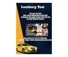 Taxi Leesburg VA