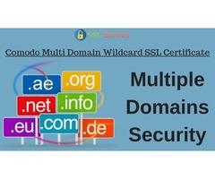 Comodo Multi Domain Wildcard SSL Certificate For Multidomain Security