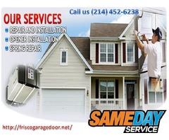 Same Day | Garage Door Repair Service ($25.95) Frisco Dallas, 75034 TX