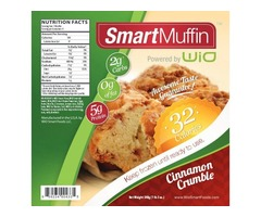 Start Your Morning With Crumble Muffin