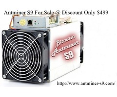 Bit-main Antminer S9 For Sale Discount Only 499