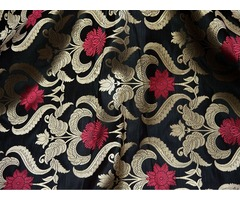 Buy Handprinted Cotton Fabric Online