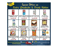 Special Offers On Dairy Products & Fresh Roties Online Wylie,Texas - MyHomeGrocers