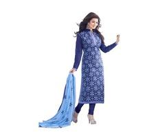 Designer Churidar dress at reasonable rate