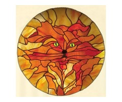 Marmalade The Cat - Stained Glass