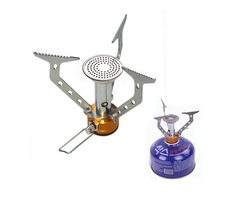 Stainless Steel Camping Picnic Cooking Gas Stove Outdoor Activity