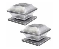 Solar deck post lights 4 x 4