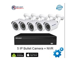 5 Camera IP Security System- Buy Now at Revlight Security
