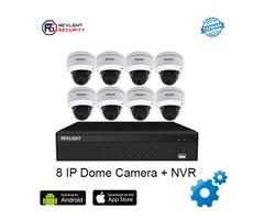 8 Camera IP Security System - Revlight Security