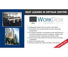 Affordable Seat Lease in Ortigas, Pasig, Philippines (PLUG N PLAY) | free-classifieds-usa.com