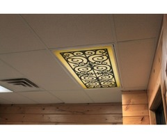 Buy Attractive Fluorescent Light Covers for Waiting Room  Offered By Ironlites