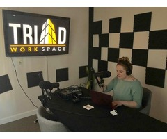 Fully Equipped Podcast Studio