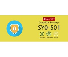 Pass The CompTIA Security+ SY0-501 Certification With uCertify