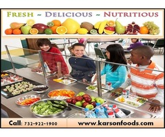 Healthy and Testy School Food  Services|New Jersey, 07712 | Karson Foods