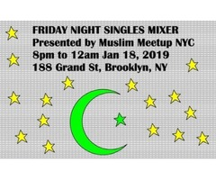 Muslim Singles Mixer Presented by Muslim Meetup NYC