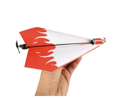 Folding Electric Power Paper Aircraft Conversion Kit Toy Gift