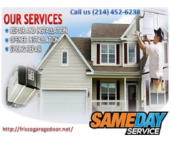 Same Day | Garage Door Repair ($25.95) Frisco, TX