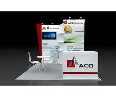 10x10 Trade Show Booth Rental