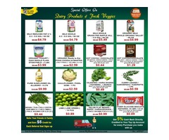 Special Offers On Dairy Products & Fresh Veggies Online Plano,Texas - MyHomeGrocers