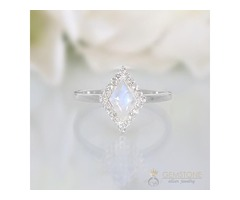 moonstone ring ecstasy - GSJ