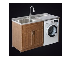 Multifunctional Stainless Steel Laundry Cabinet Is Suitable For Small Units